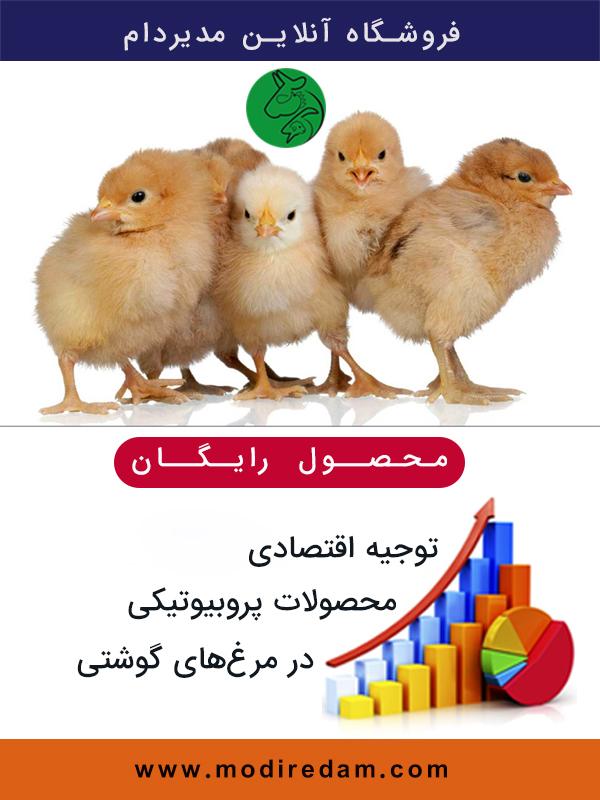 توجیه اقتصادی محصولات پروبیوتیکی در مرغ های گوشتی